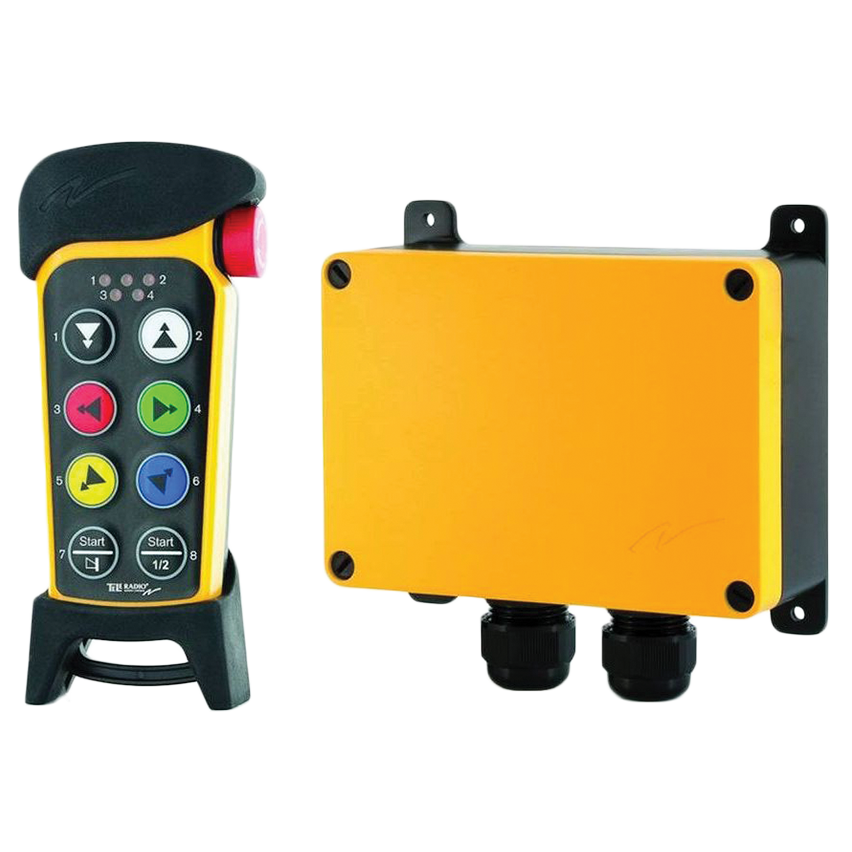 Remote controls for cranes, hoists and winches - Fyns Kran Udstyr A/S