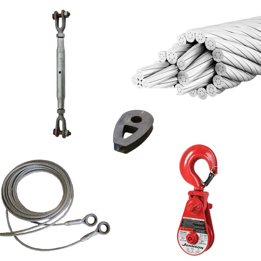 Steel Wire Rope and accessories - Fyns Kran Udstyr
