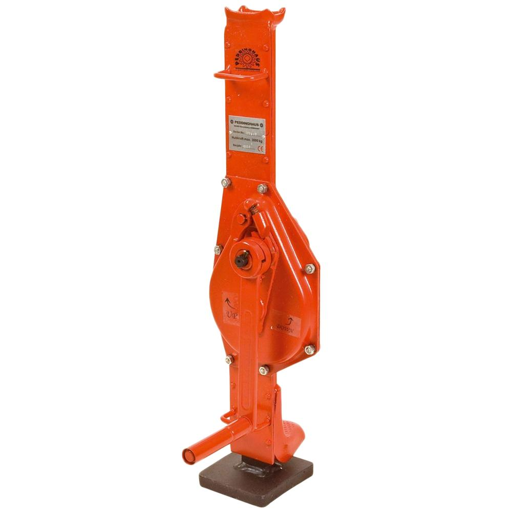 Rack and Pinion Jakcs - Lifting Equipment by Fyns Kran Udstyr A/S